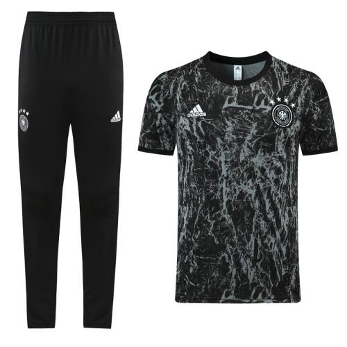 21-22 Germany Black training Suit(long pants)