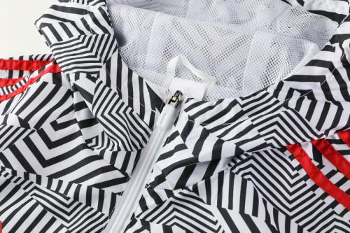 21-22 Ajax Black-White Windbreaker S-XXL