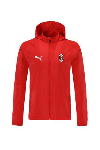 21-22 AC Milan Red Windbreaker S-XXL