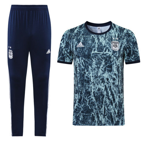 21-22 Argentina Blue training Suit(long pants)