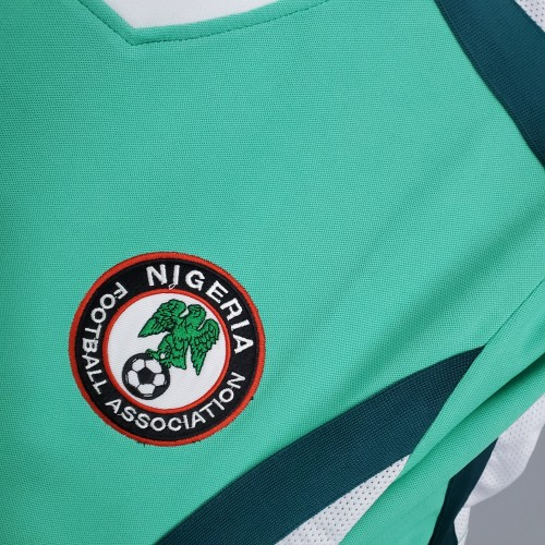 1998 Nigeria Home Retro Jersey