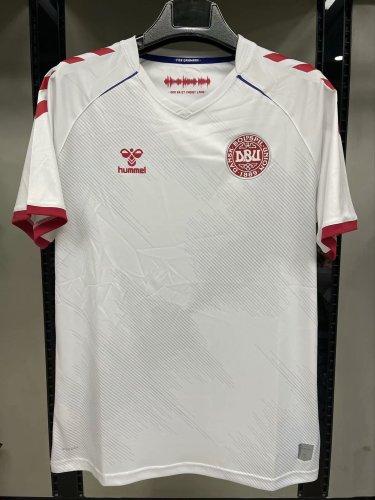 2020 Danmark  Away Fans Jersey