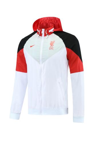 21-22 Liverpool White Windbreaker S-XXL
