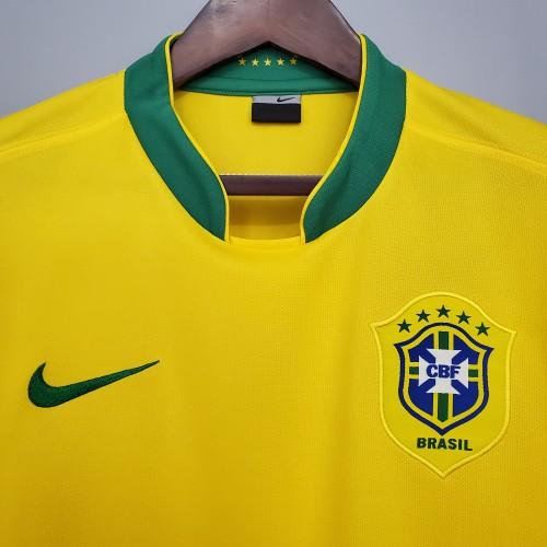 2006 Brazil Home Retro Jersey