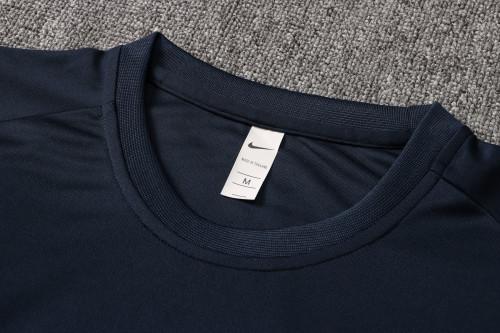 21-22 Tottenham Hotspur Blue Short Sleeve Suit