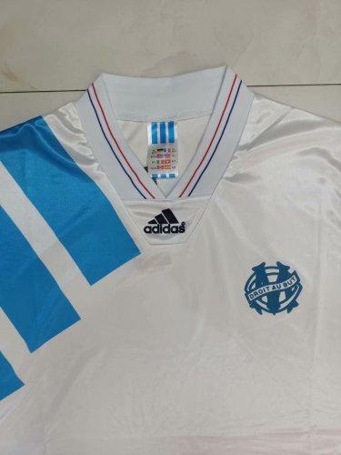 92-93 Marseille Home Retro Jersey