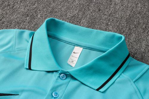 21-22 Inter Milan Green Polo Short Sleeve Suit