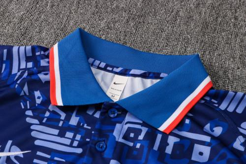 21-22 Clelsea Blue Polo Short Sleeve Suit