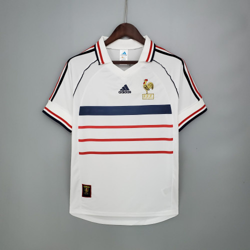 1998 France Away Retro Jersey