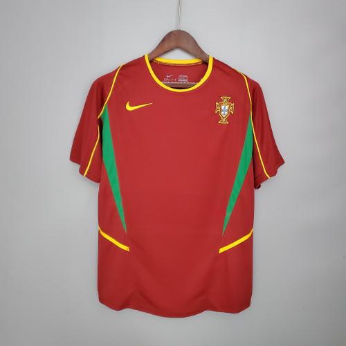 2002 Portugal Home Retro Jersey