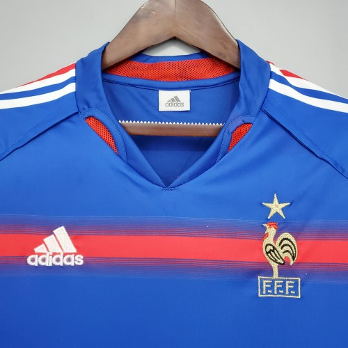 2004 France Home Retro Jersey