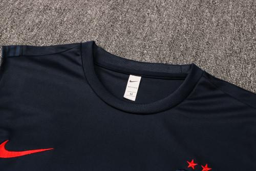 21-22 France Blue Vest Suit