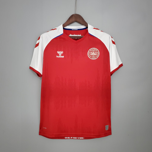 2020 Danmark Home Fans Jersey