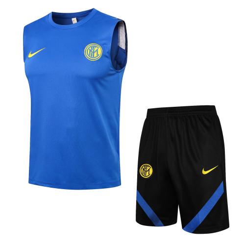 21-22 Inter Milan Blue Vest Suit