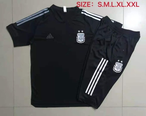 21-22 Argentina Black short sleeve Suit
