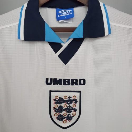 1996 England Home Retro Jersey