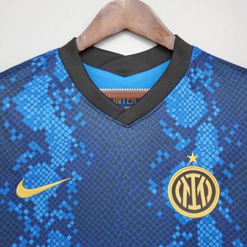 21-22  Inter Milan Home Fans Jersey