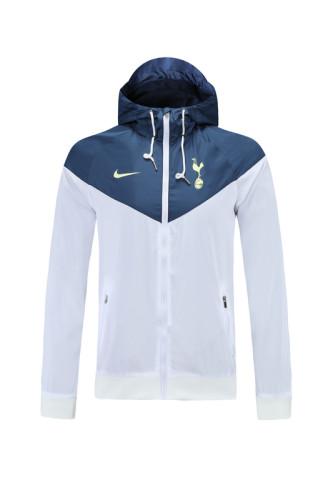 21-22 Tottenham Hotspur White Windbreaker S-XXL