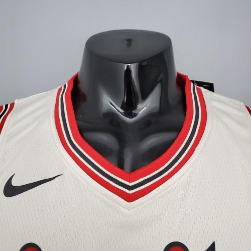 ROY#7 Portland Trail Blazers Beige NBA Jersey S-XXL