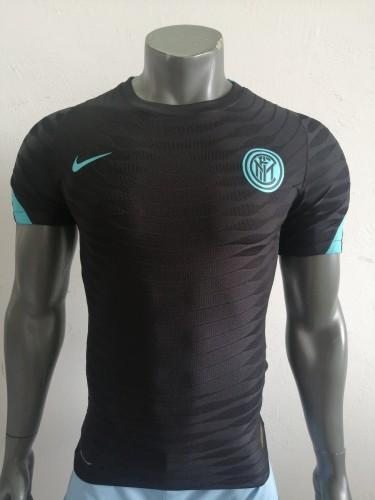 21-22 Inter Milan Black Player Training Jersey