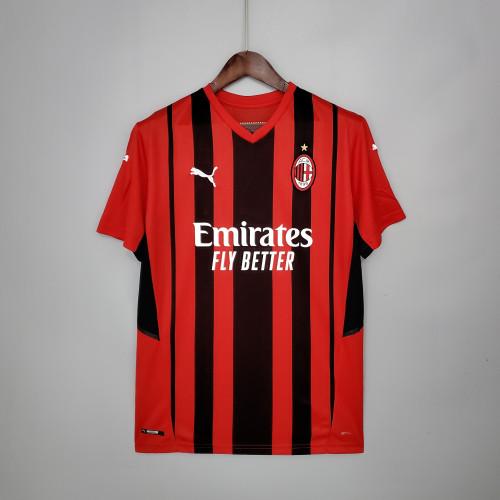 21-22 AC Milan Home Fans Jersey