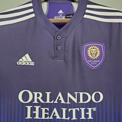 21-22 Orlando City SC home Purple fans version S-XXL