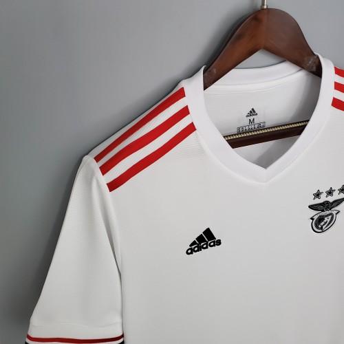 21/22 Benfica away white fans version S-XXL