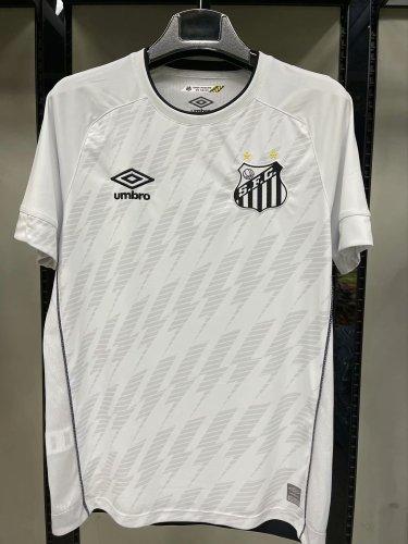 21-22 Santos Home White Fans Jersey