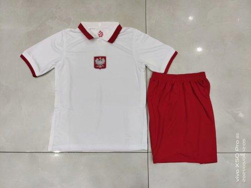 2020 Poland Home White Kid Kit