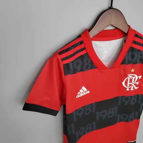 21-22 Flamengo Home Kid Kit