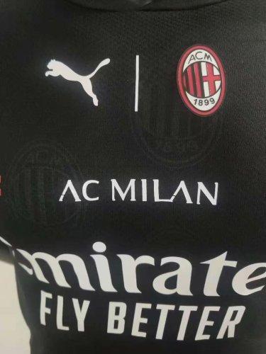21-22 AC Milan Black Player Version Jersey