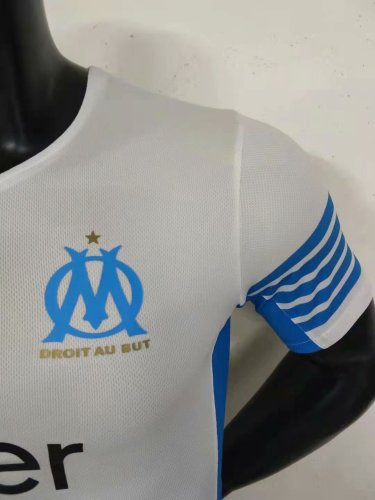 21-22 Marseille Home Player Jersey