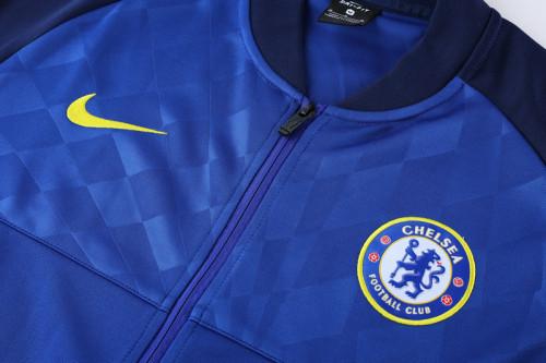 21-22 Chelsea Blue Player version Jacket Suit