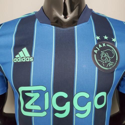 21-22 Ajax Away Player Version Jersey