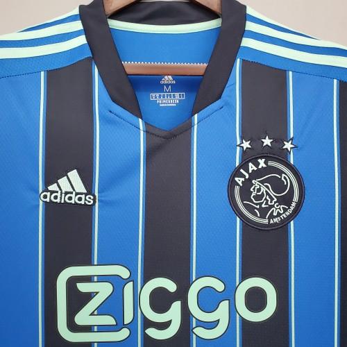 21-22 Ajax Away Fans Jersey
