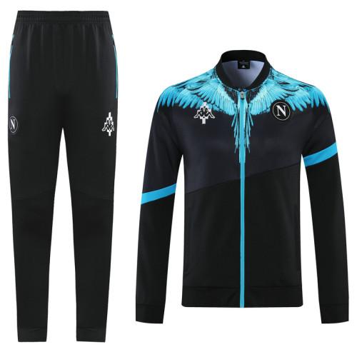 21-22 Napoli Black-Blue Jacket Suit