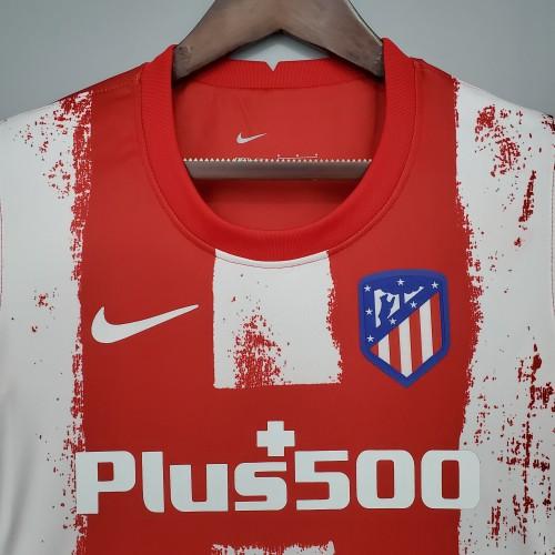 21-22 Atletico Madrid home women Fans Jersey