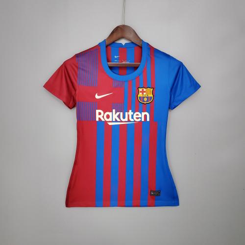 21-22 Barcelona home women Jersey