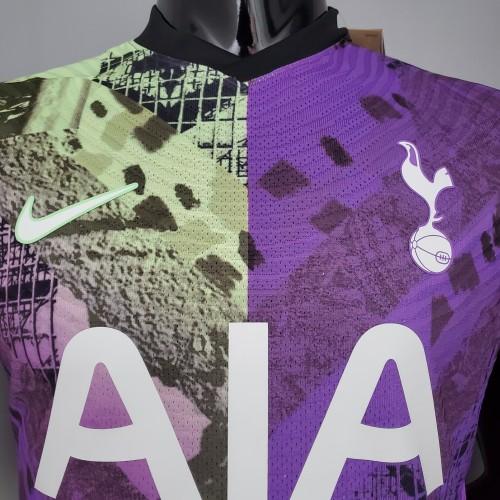 21-22 Tottenham Hotspur third away player version Jersey