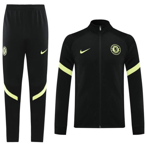21-22 Chelsea Black Jacket Suit