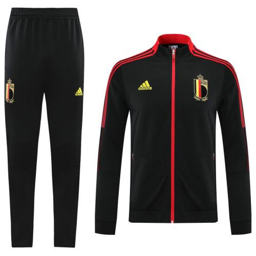21-22 Belgium Black Jacket Suit