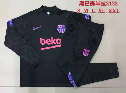 21-22 Barcelona Black Training suit