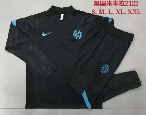 21-22 Inter Milan Black Training suit