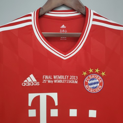 13-14 Bayern Home Long Sleeve Champions League
