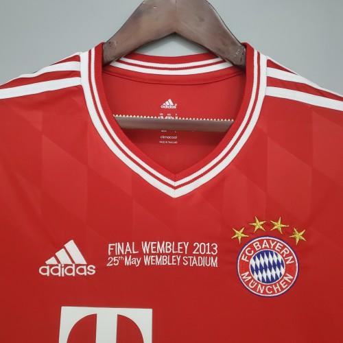 13-14 Bayern Home  Champions League Jersey
