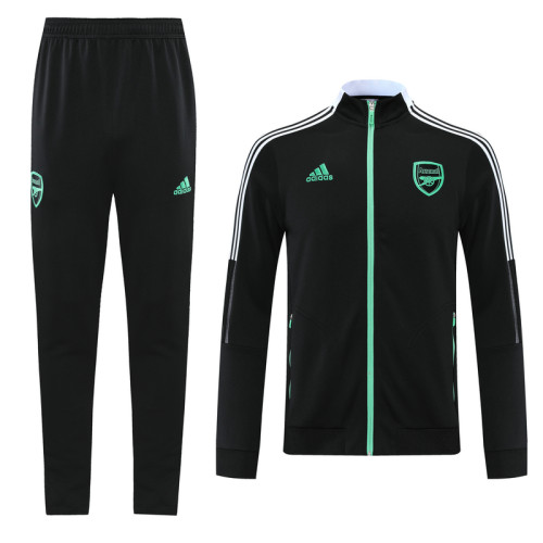 21-22 Arsenal Black Jacket Suit