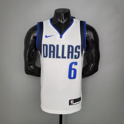 PORZINGIS#6 Mavericks home White NBA Jersey