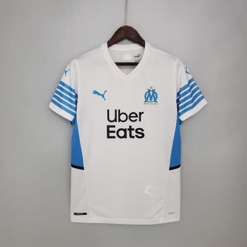 21-22 Marseille Home Fans Jersey