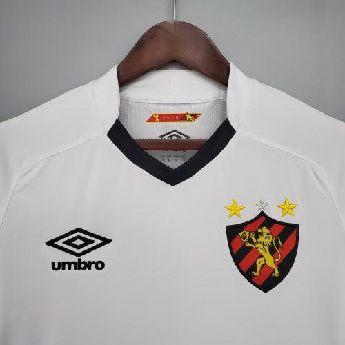 21-22 Recife sports Away White Fans Jersey