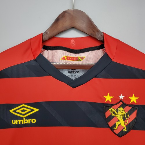 21-22 Recife sports home Red Fans Jersey
